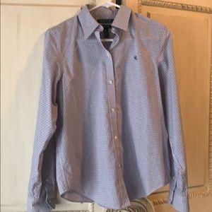 Ralph Lauren  non iron button up shirt.